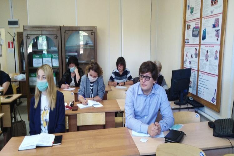 55 представителей бизнеса Новокуйбышевска проходят обучение по охране труда на базе научно-технического центра НК.